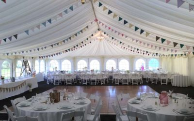 Fully furnished marquee