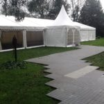 Wedding winter marquee hire