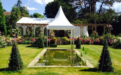 Spring Party Marquee – why wait for Summer?