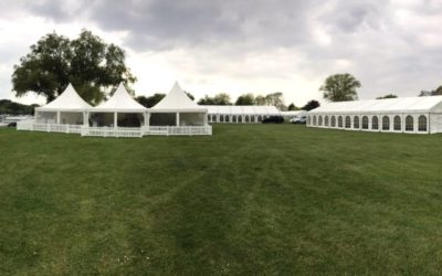 Festival Marquees – Christchurch Dorset